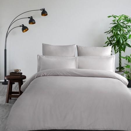 Комплект постельного белья из сатина однотонный Стоун