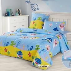 Комплект постельного белья с легким одеялом 1,5спальный арт.45