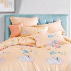 Комплект постельного белья из фланели 1,5-спальный арт.1419-4S