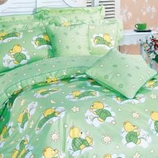 Комплект постельного белья из печатного сатина арт. 1355-4XS