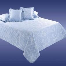 Покрывало стеганое Cotton-Dreams Комо голубой