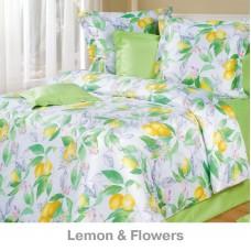 Постельное белье Cotton Dreams Lemon & Flowers