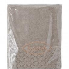 "Полотенце махровое ""KARNA"" PONPON 70x140 см 1/1"