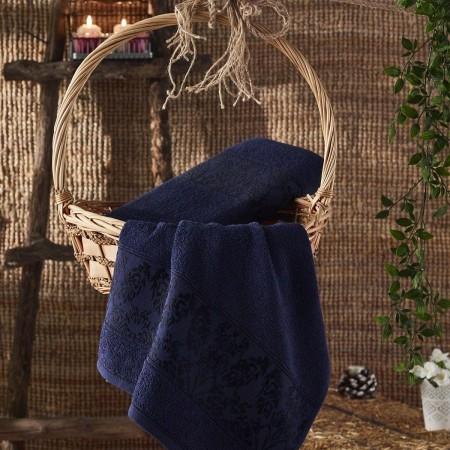 GARLET (синий) 70х140 Полотенце Махровое