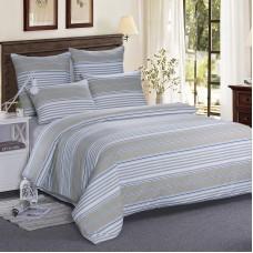 Анжело (бежевое) постельное белье из сатина 4 наволочки