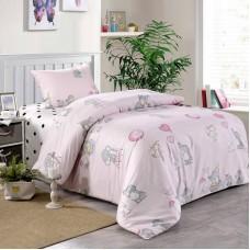 Веселый слоник (розовый)-Слоник КПБ детский