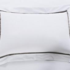 Санремо (серый) Наволочка Сатин  50х70 (2шт)