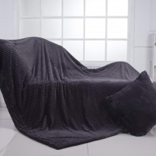 Fantastic №5 (серый) Плед 160х220