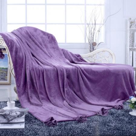 Flounce (фиолет) Плед 160х220