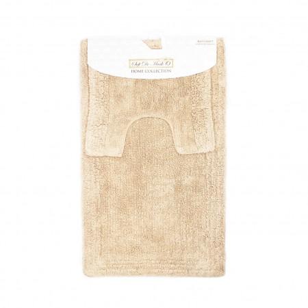 LUNA (капучино) Набор ков. для ванной комнаты 60х100 и 50х50