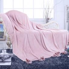 Flounce (розовый) Плед 220х230