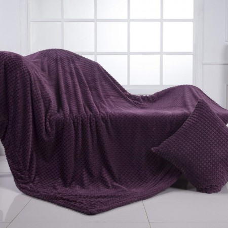 Fantastic №7 (фиолет) Плед 160х220