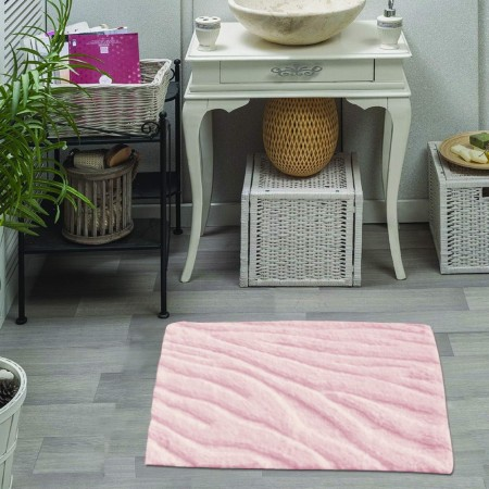 MORGANA (пудра) Коврик для ванной 50х70см