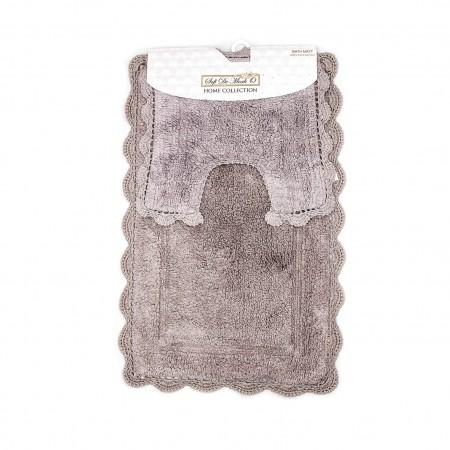 CLEO (мокко) Набор ков. для ванной комнаты 60х100 и 50х50см