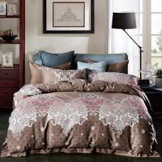 Комплект постельного белья Евро 4 наволочки арт.192